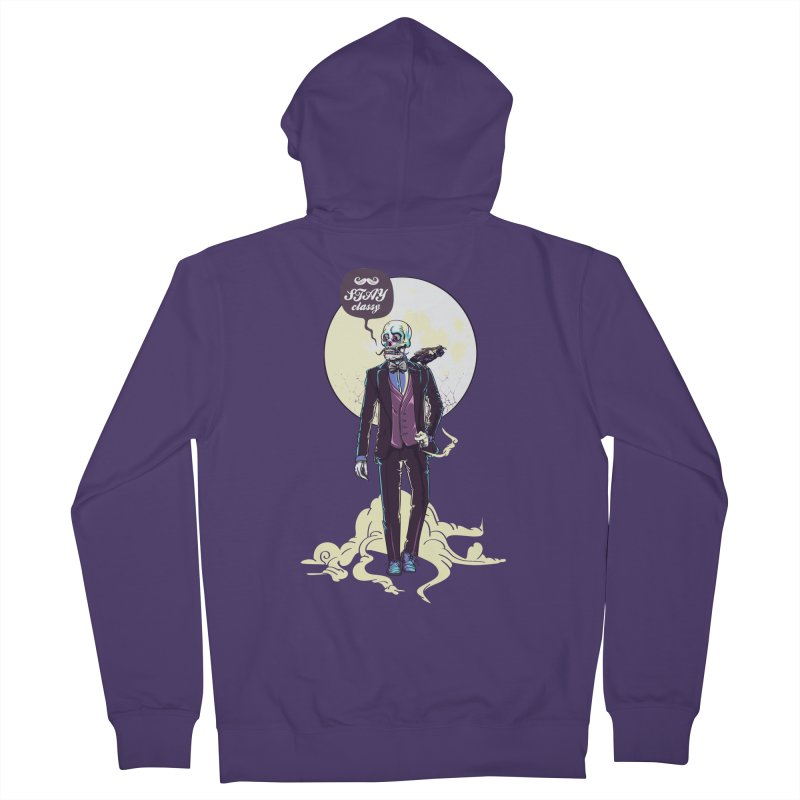 Stay Classy Women's Zip-Up Hoody by maus ventura's Artist Shop