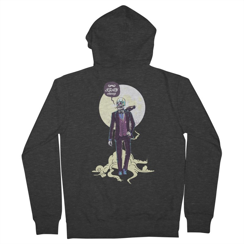 Stay Classy Men's Zip-Up Hoody by maus ventura's Artist Shop