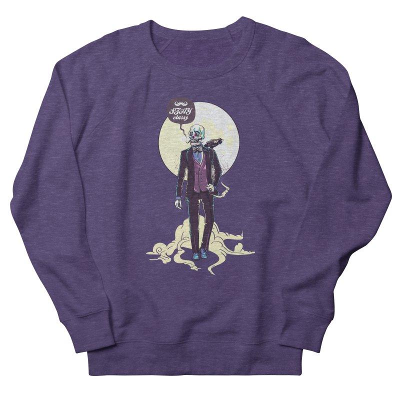 Stay Classy Men's French Terry Sweatshirt by maus ventura's Artist Shop