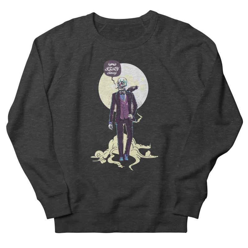 Stay Classy Men's Sweatshirt by maus ventura's Artist Shop