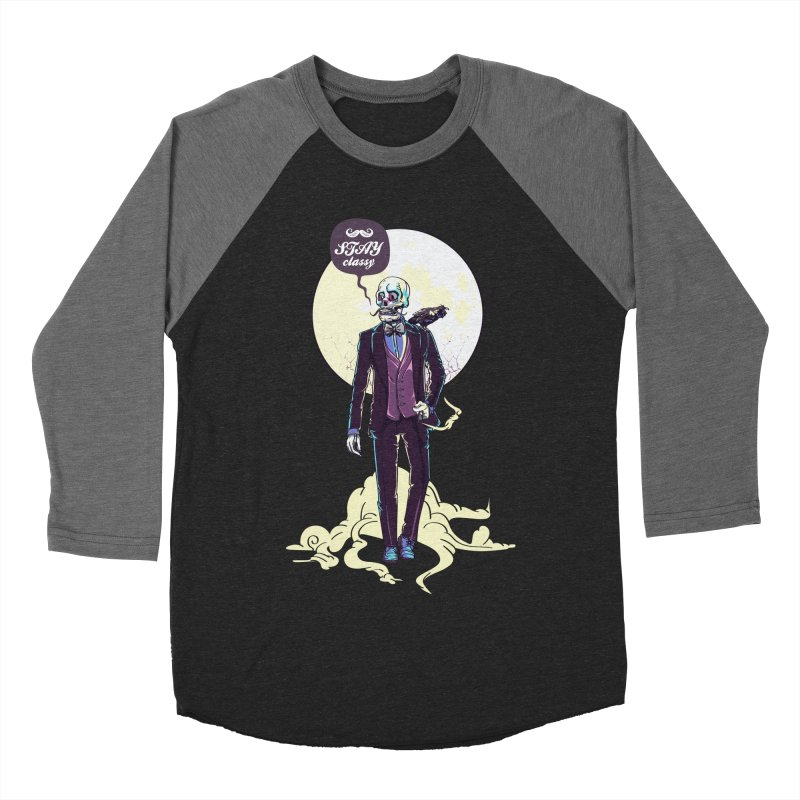 Stay Classy Men's Baseball Triblend Longsleeve T-Shirt by maus ventura's Artist Shop