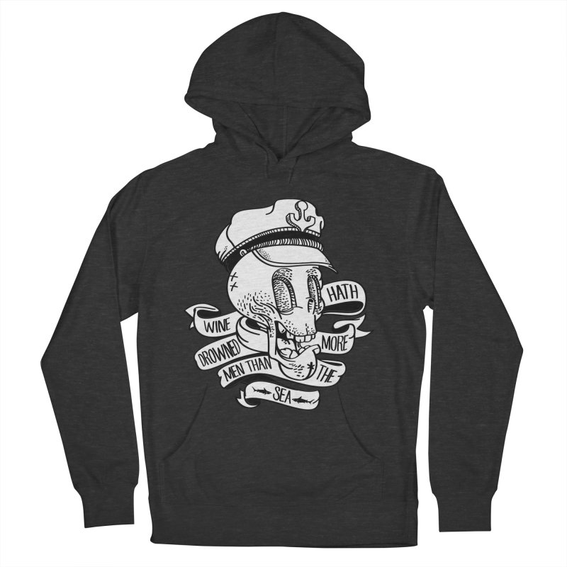 Ol Cap Thomas Women's French Terry Pullover Hoody by maus ventura's Artist Shop