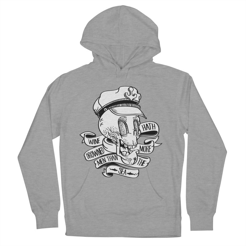 Ol Cap Thomas Men's French Terry Pullover Hoody by maus ventura's Artist Shop