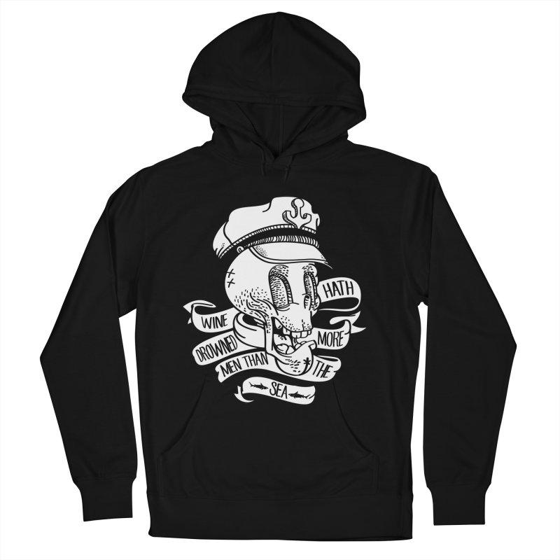 Ol´ Cap Thomas Men's Pullover Hoody by maus ventura's Artist Shop