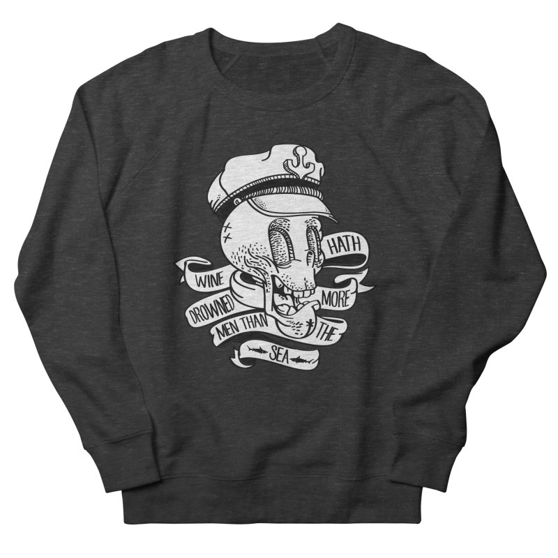 Ol Cap Thomas Men's French Terry Sweatshirt by maus ventura's Artist Shop