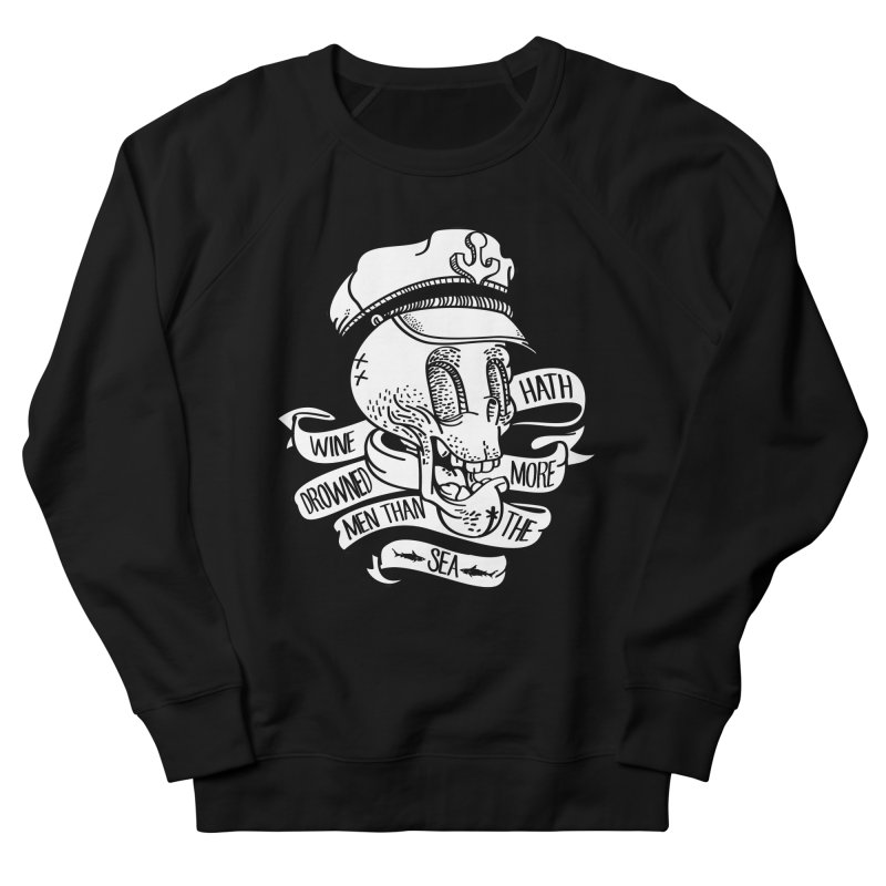 Ol Cap Thomas Men's French Terry Sweatshirt by maus ventura's Artist Shop