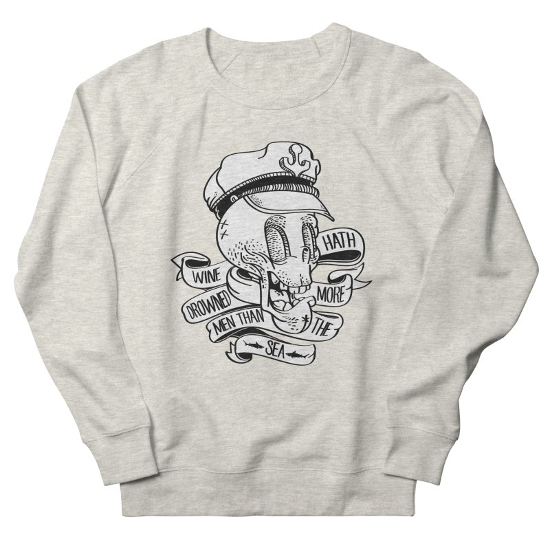 Ol´ Cap Thomas Men's Sweatshirt by maus ventura's Artist Shop