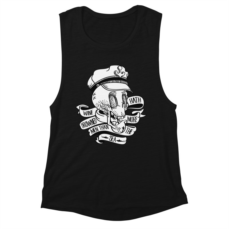 Ol Cap Thomas Women's Muscle Tank by maus ventura's Artist Shop