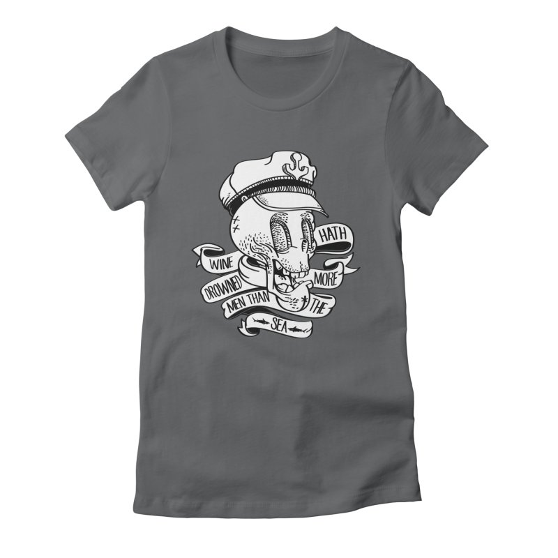 Ol Cap Thomas Women's Fitted T-Shirt by maus ventura's Artist Shop