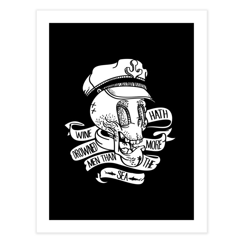 Ol Cap Thomas Home Fine Art Print by maus ventura's Artist Shop