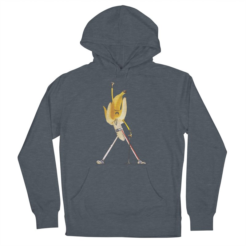 We will...we will... Women's French Terry Pullover Hoody by maus ventura's Artist Shop