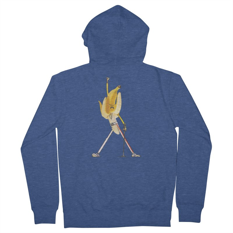 We will...we will... Women's French Terry Zip-Up Hoody by maus ventura's Artist Shop