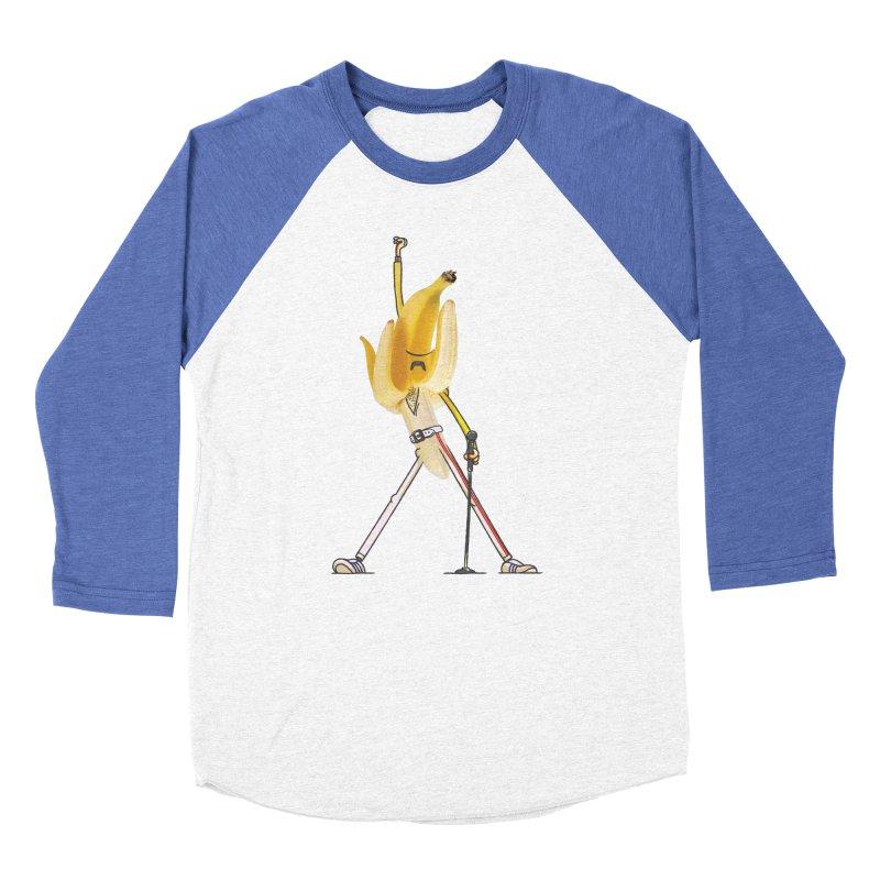 We will...we will... Women's Baseball Triblend Longsleeve T-Shirt by maus ventura's Artist Shop