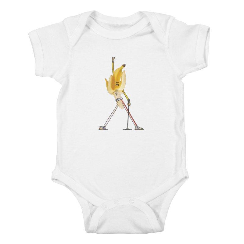 We will...we will... Kids Baby Bodysuit by maus ventura's Artist Shop