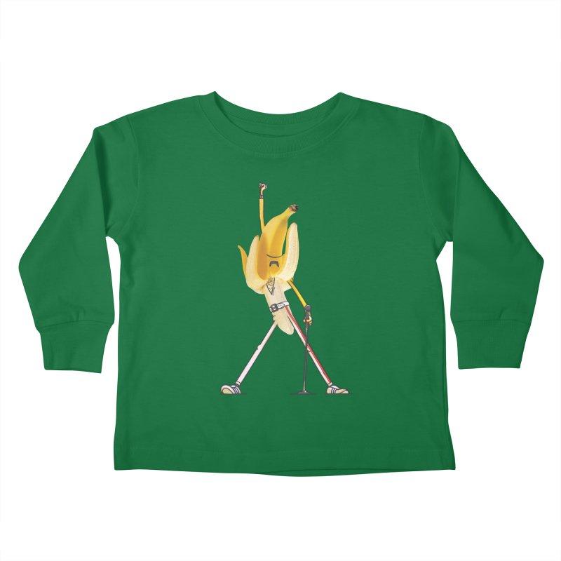 We will...we will... Kids Toddler Longsleeve T-Shirt by maus ventura's Artist Shop