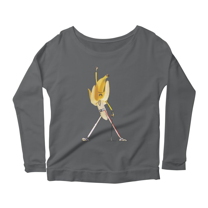We will...we will... Women's Scoop Neck Longsleeve T-Shirt by maus ventura's Artist Shop