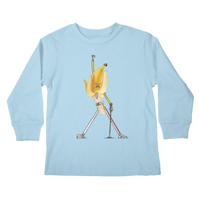We will...we will... Kids Longsleeve T-Shirt by maus ventura's Artist Shop