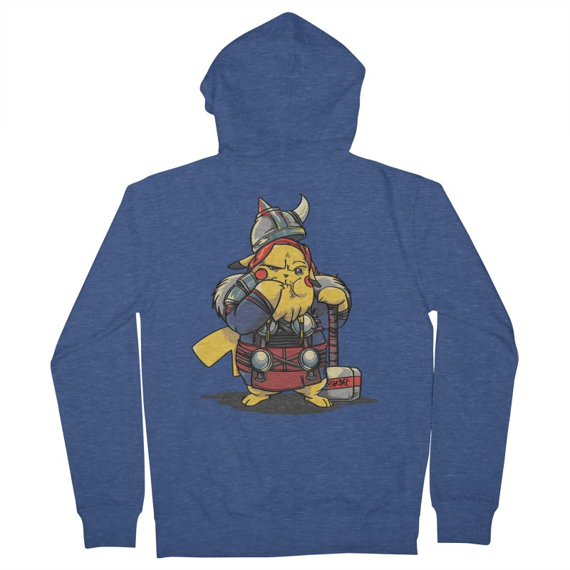 The real God of Thunder Men's Zip-Up Hoody by maus ventura's Artist Shop