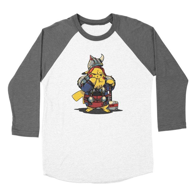 The real God of Thunder Women's Longsleeve T-Shirt by maus ventura's Artist Shop
