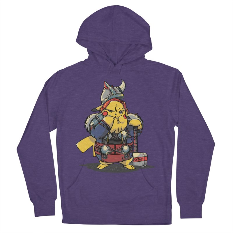 The real God of Thunder Women's French Terry Pullover Hoody by maus ventura's Artist Shop