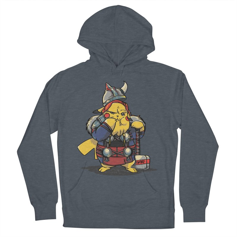 The real God of Thunder Women's Pullover Hoody by maus ventura's Artist Shop