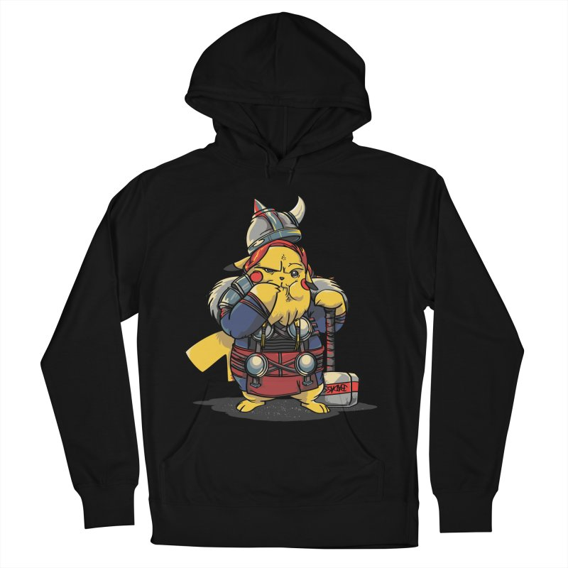 The real God of Thunder Men's Pullover Hoody by maus ventura's Artist Shop