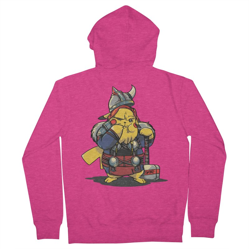 The real God of Thunder Women's Zip-Up Hoody by maus ventura's Artist Shop