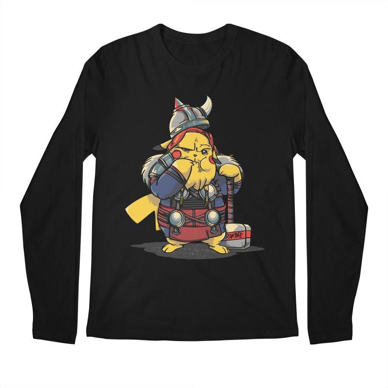 The real God of Thunder Men's Longsleeve T-Shirt by maus ventura's Artist Shop