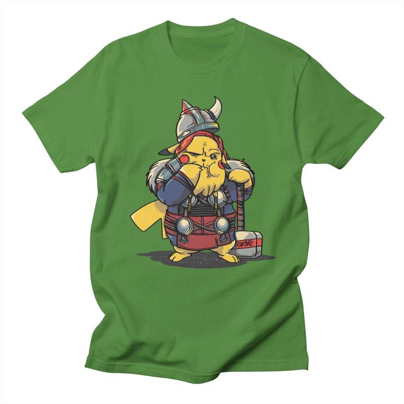 The real God of Thunder Men's T-Shirt by maus ventura's Artist Shop