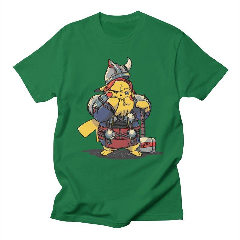 The real God of Thunder Men's Regular T-Shirt by maus ventura's Artist Shop
