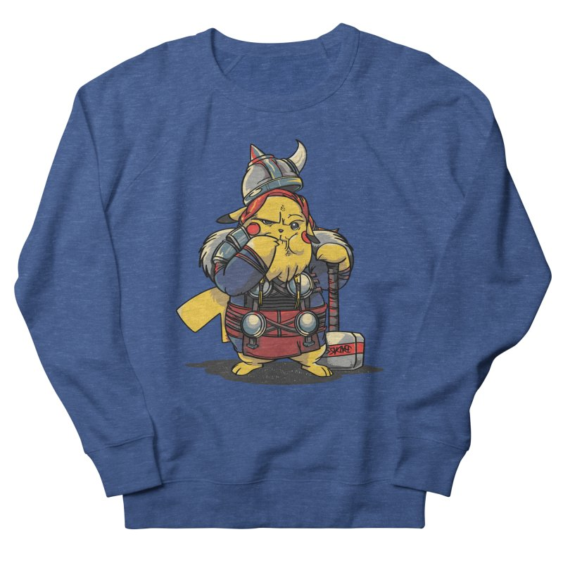The real God of Thunder Women's French Terry Sweatshirt by maus ventura's Artist Shop