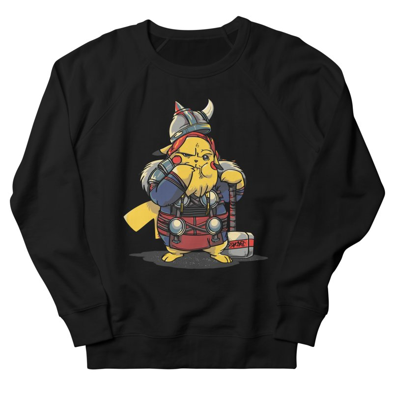 The real God of Thunder Women's Sweatshirt by maus ventura's Artist Shop