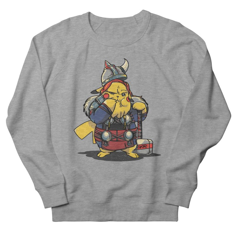 The real God of Thunder Men's Sweatshirt by maus ventura's Artist Shop