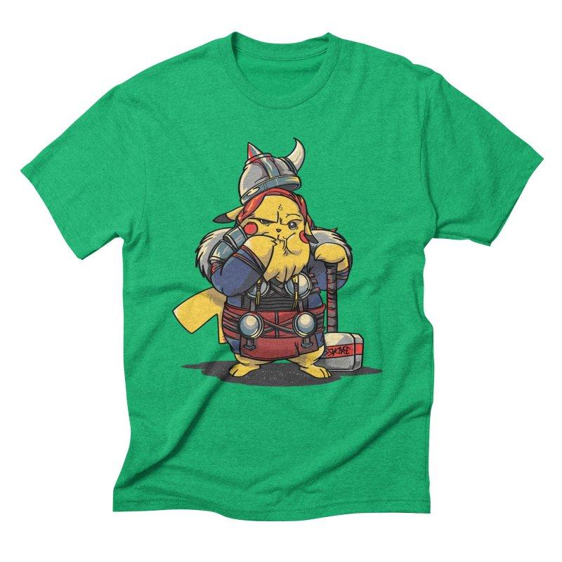 The real God of Thunder Men's Triblend T-Shirt by maus ventura's Artist Shop