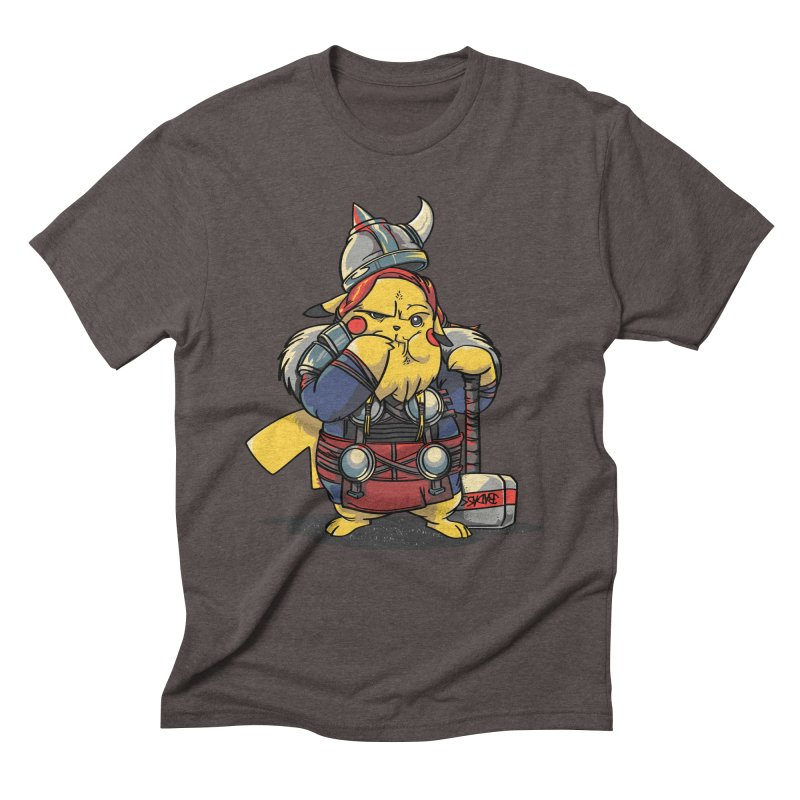 The real God of Thunder Men's Triblend T-Shirt by maus ventura's Artist Shop