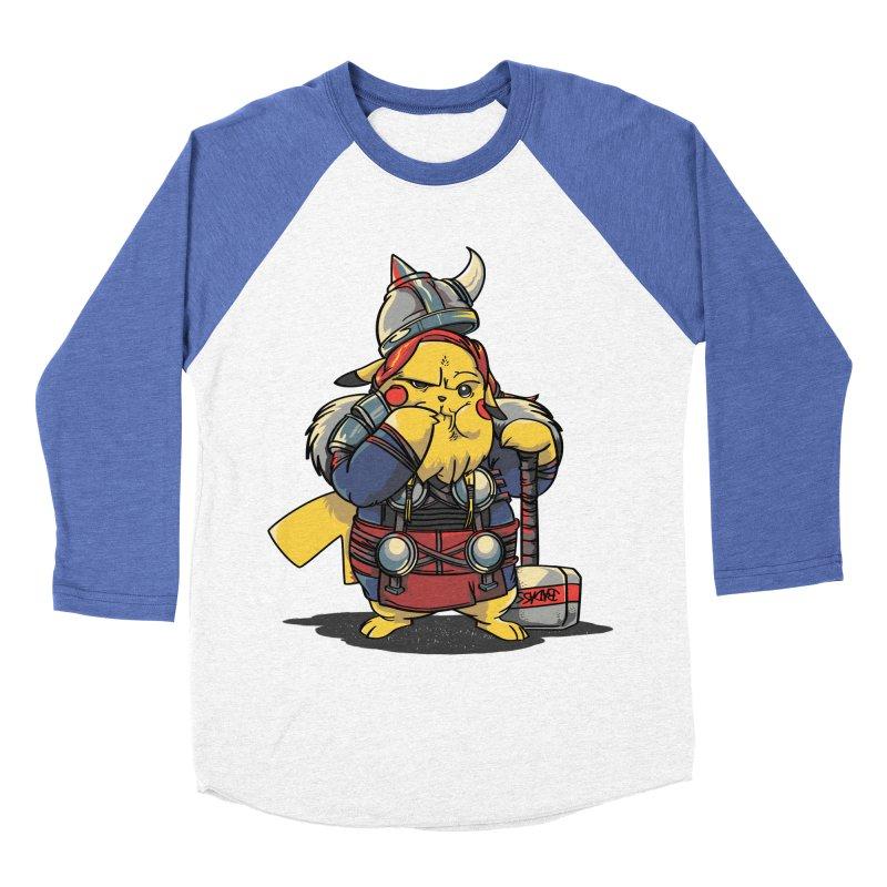 The real God of Thunder Women's Baseball Triblend T-Shirt by maus ventura's Artist Shop