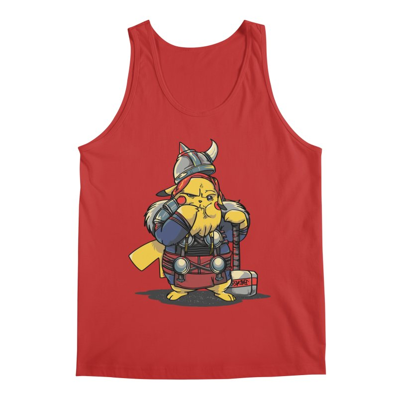 The real God of Thunder Men's Regular Tank by maus ventura's Artist Shop