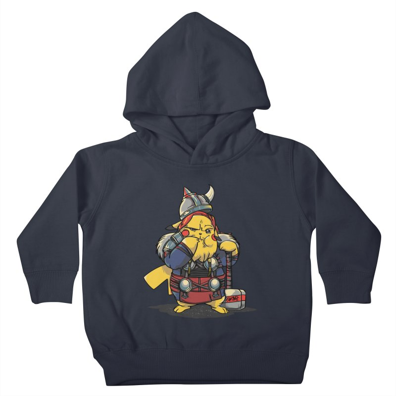 The real God of Thunder Kids Toddler Pullover Hoody by maus ventura's Artist Shop