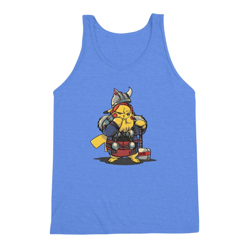 The real God of Thunder Men's Triblend Tank by maus ventura's Artist Shop