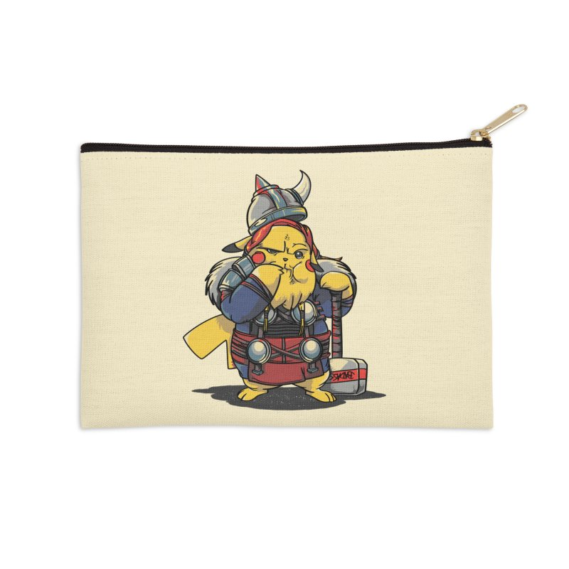 The real God of Thunder Accessories Zip Pouch by maus ventura's Artist Shop