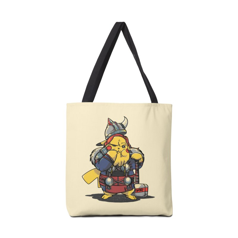 The real God of Thunder Accessories Bag by maus ventura's Artist Shop