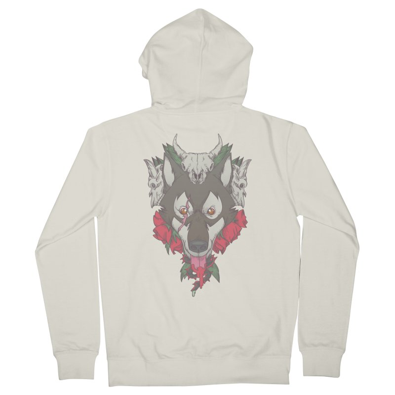 Imperfect Balance Women's French Terry Zip-Up Hoody by maus ventura's Artist Shop