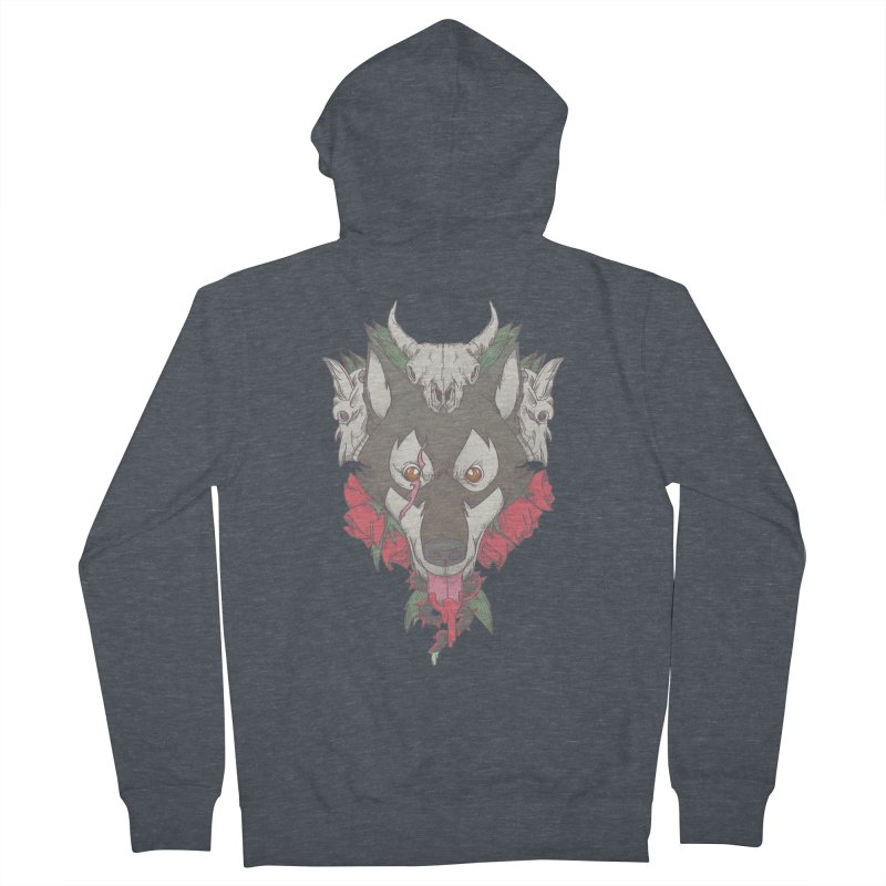 Imperfect Balance Men's French Terry Zip-Up Hoody by maus ventura's Artist Shop