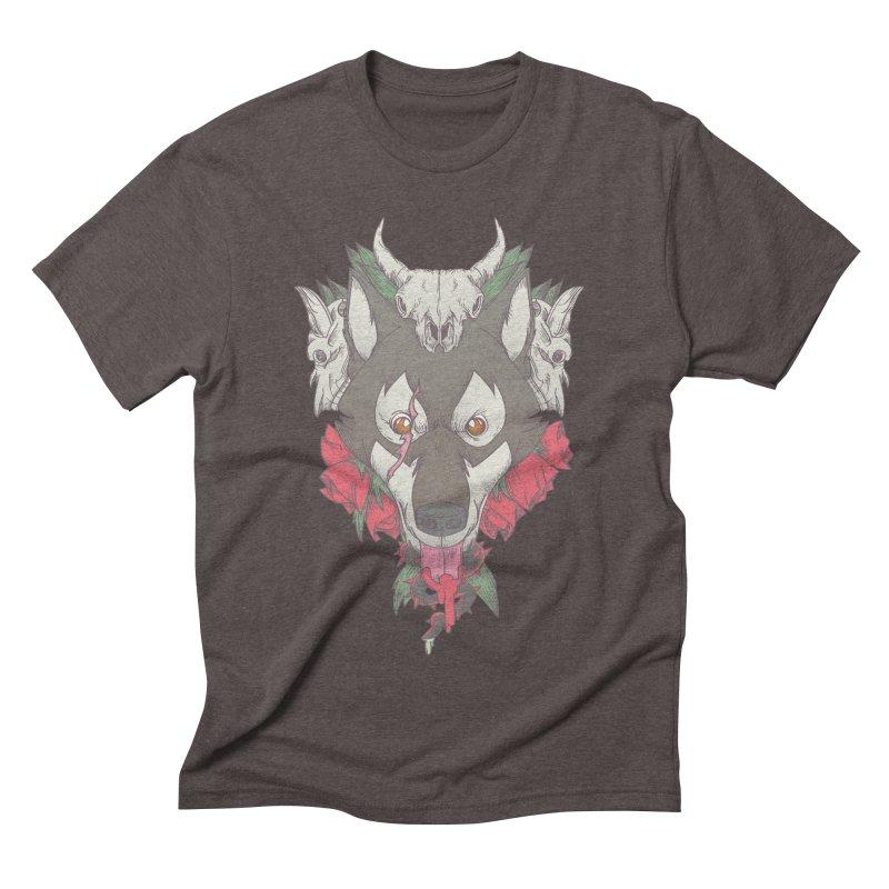 Imperfect Balance Men's Triblend T-shirt by maus ventura's Artist Shop