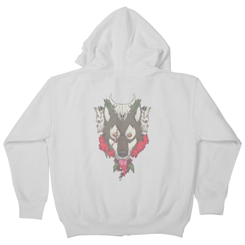 Imperfect Balance Kids Zip-Up Hoody by maus ventura's Artist Shop