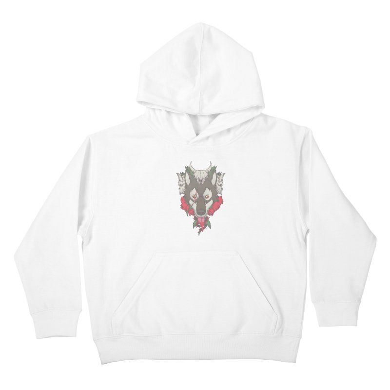 Imperfect Balance Kids Pullover Hoody by maus ventura's Artist Shop