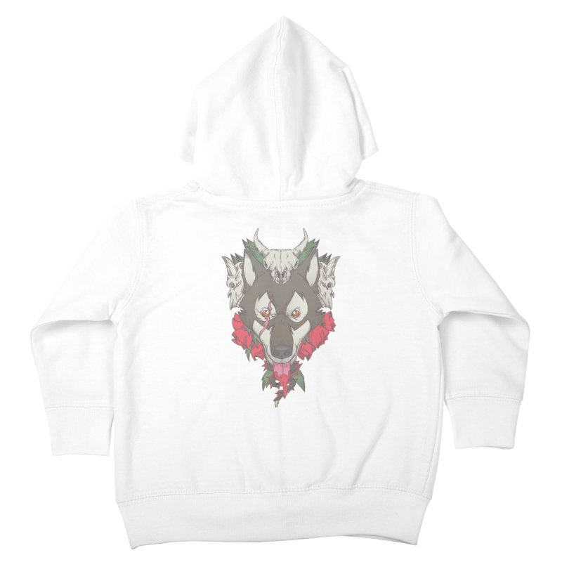 Imperfect Balance Kids Toddler Zip-Up Hoody by maus ventura's Artist Shop