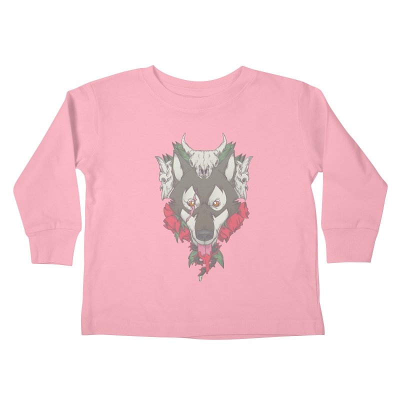 Imperfect Balance Kids Toddler Longsleeve T-Shirt by maus ventura's Artist Shop