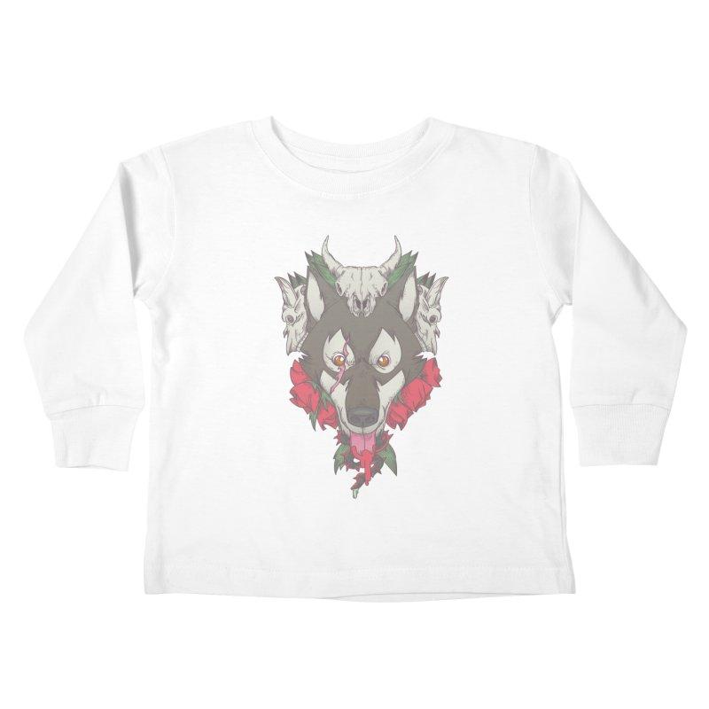 Imperfect Balance Kids Toddler Longsleeve T-Shirt by maus ventura's Artist Shop