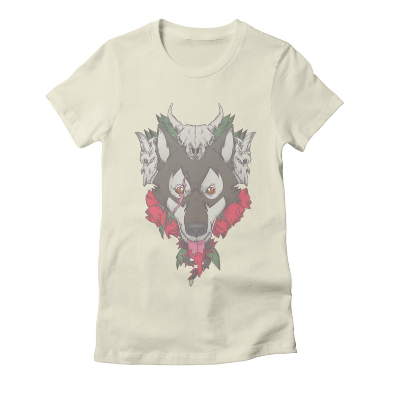Imperfect Balance Women's Fitted T-Shirt by maus ventura's Artist Shop